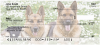 German Shepherd Personal Checks | DOG-44