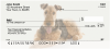 Airedale Terrier Personal Checks | DOG-89