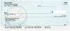 Signs of Spring Personal Checks | FLO-009
