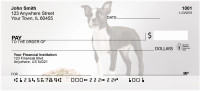 Boston Terrier Puppies Personal Checks | DOG-03