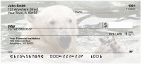 Polar Bears in the Water Personal Checks | EVC-79