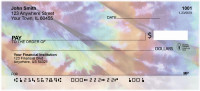 Tickled by Tie Dye Personal Checks | EVC-91