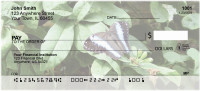 Blue Morpho Butterflies Personal Checks | GCL-03