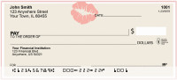 Sealed With a Kiss Personal Checks | GEO-26