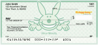 Nice... Mostly By It's Happy Bunny Personal Checks | IHB-14
