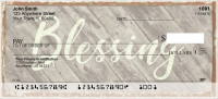 Rustic Blessings Personal Checks | REL-52