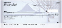 Winter on the Prairie Personal Checks | SCE-07