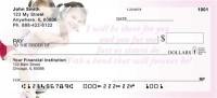 Love Personal Checks by Sweet Intentions | SWE-04