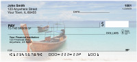 Scenic Tropical Boats Personal Checks | TRA-87