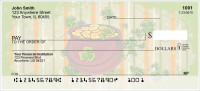 Celebrate St. Patrick Personal Checks | TVL-25