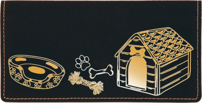 Home Sweet Bone Engraved Leather Cover | CLE-00006