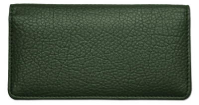 Forest Green Leather Checkbook Cover | CLP-FRG01
