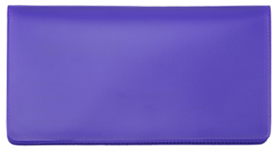 Purple Vinyl Checkbook Cover | VCB-PUR01