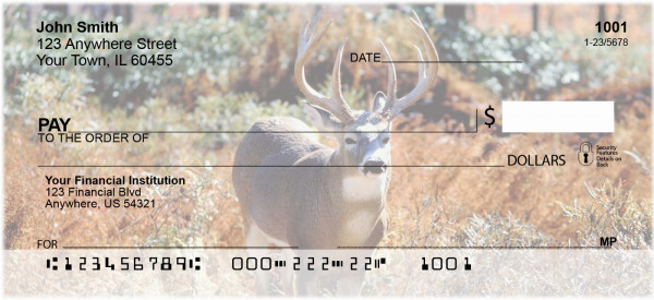 Deer Personal Checks | ANI-55