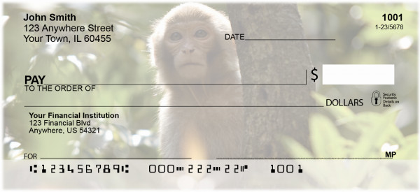 Monkeys Personal Checks | EVC-71