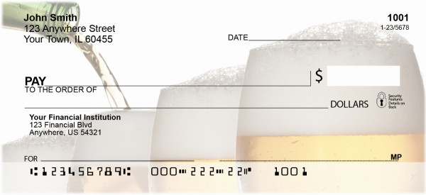 Beer Personal Checks | FOD-23