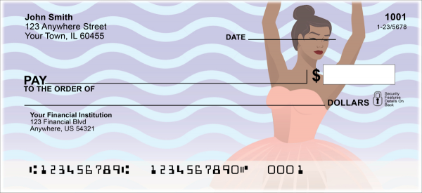 Ballet Dancer Personal Checks | FUN-015