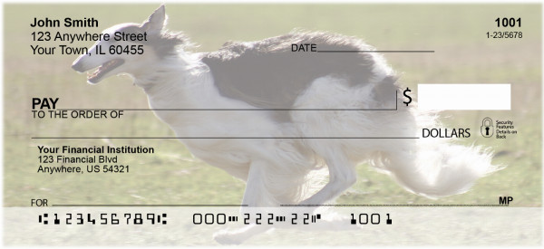 Borzoi Personal Checks | GCB-08