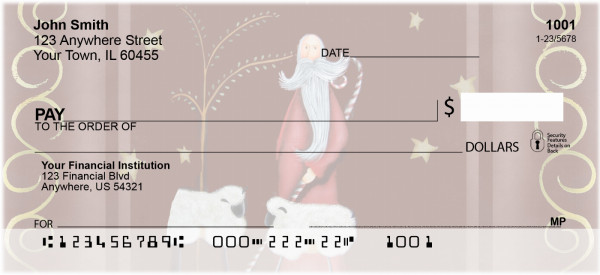 Keeper of the Flock Personal Checks by Lorrie Weber | JHS-17