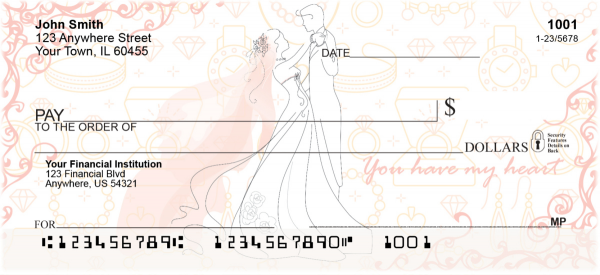 Everlasting Love Personal Checks | LOV-28
