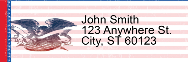 Home of the Brave Address Labels | LRRPAT-37