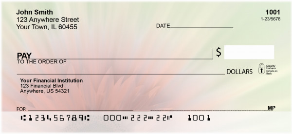 Pink Explosion Personal Checks | NAT-23