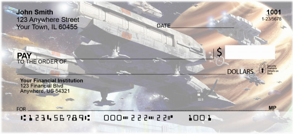 Space Cruisers Personal Checks | SPA-01