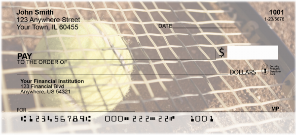 Tennis Personal Checks | SPO-06