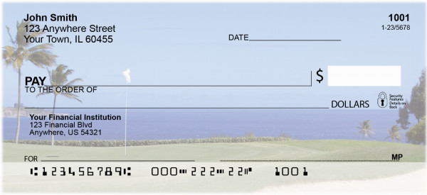 Golf Courses on The Ocean Personal Checks | SPO-42
