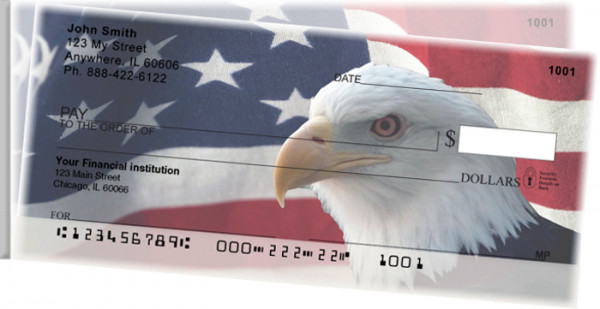 Soaring Over America Side Tear Personal Checks | STPAT-08