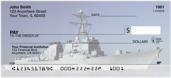 In The Navy Personal Checks | TRA-29