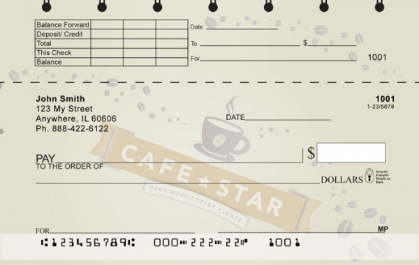 Cafe Top Stub Checks | TSGEP-85