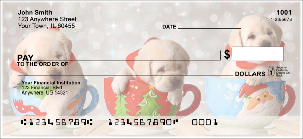 Howling Holidays Personal Checks | XMS-63